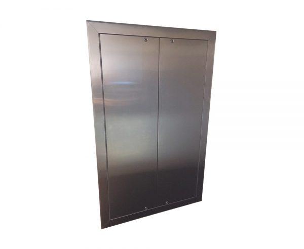 Trafalgar Access Stainless Steel Access Panels Double Door Custom Order