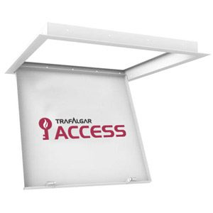 Touch Latch Metal Access Panels